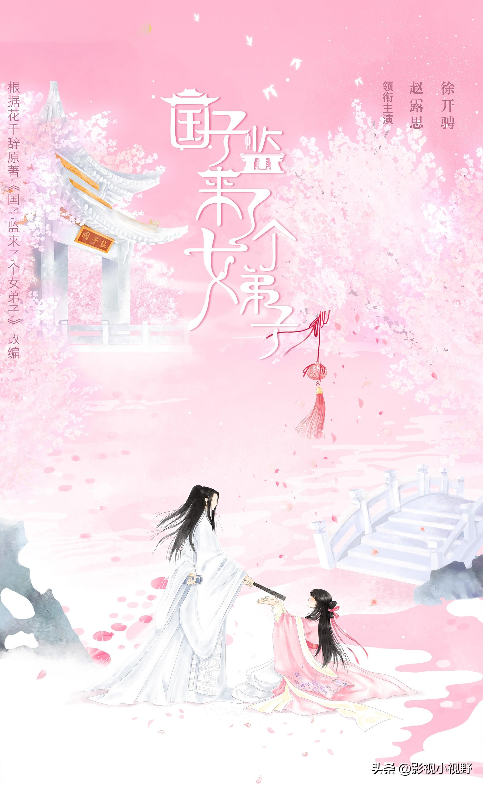赵露思新剧刚播出引热议,又一部古装剧官宣,根据同名小说改编