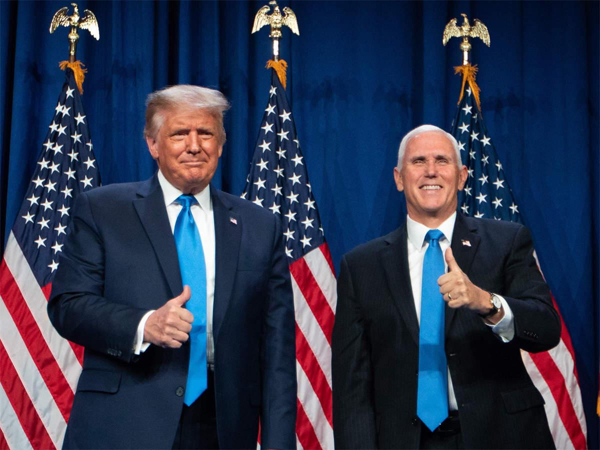 """如果特朗普不幸倒下,谁会是美国总统?一种局面或让拜登""""躺赢"""""""