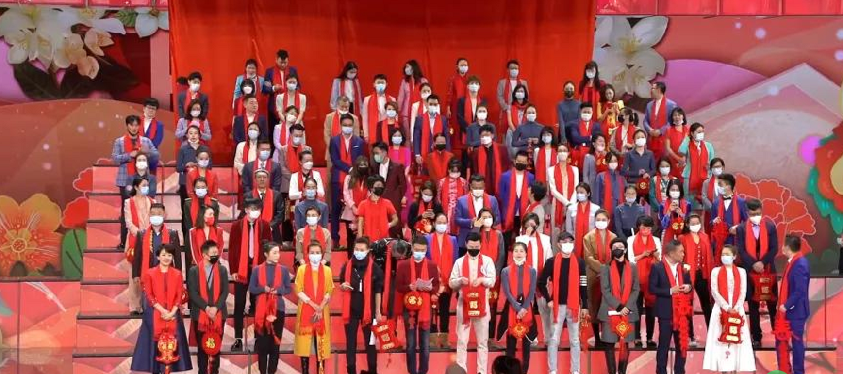 Window of program of CCTV Yuanxiao evening party: 100 chair begin of National People's Congress, cai Ming of Pan the Yangtse River is again fit
