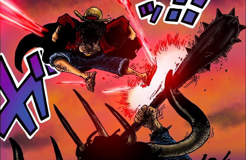海賊王1011話:第五位掌握霸王色纏繞的人出現,僅一招秒殺佩吉萬