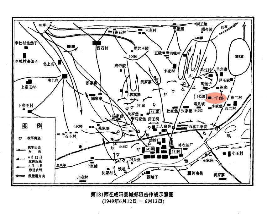 咸阳阻击战,迎战马家军,大战中五台,打出英雄连的威名