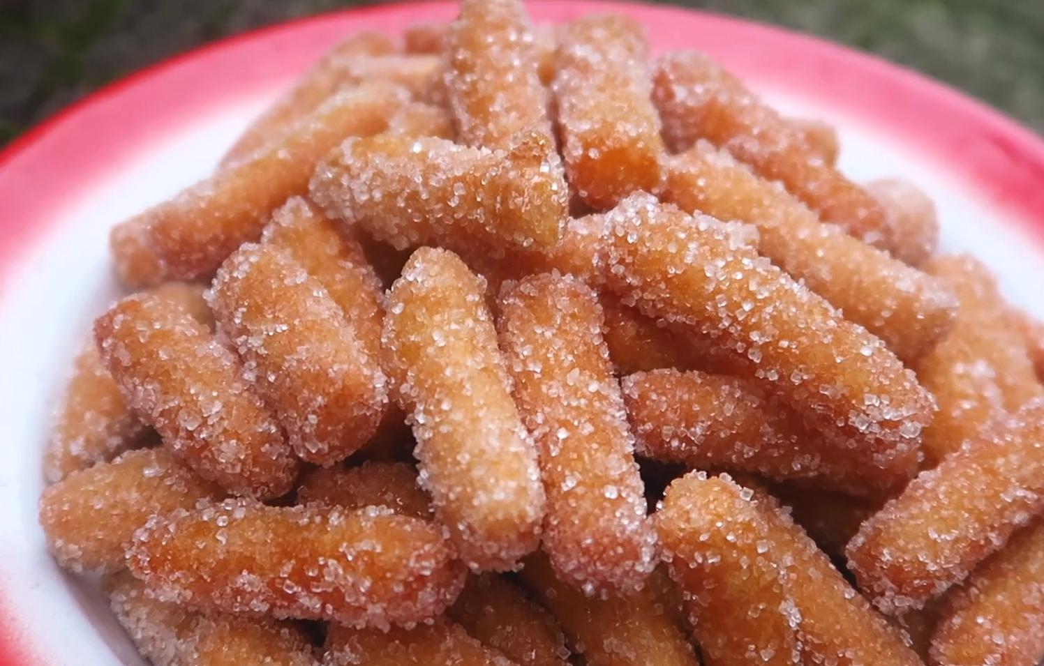 真正的老式江米條,步驟要點詳細,香甜酥脆,吃出小時候的回憶