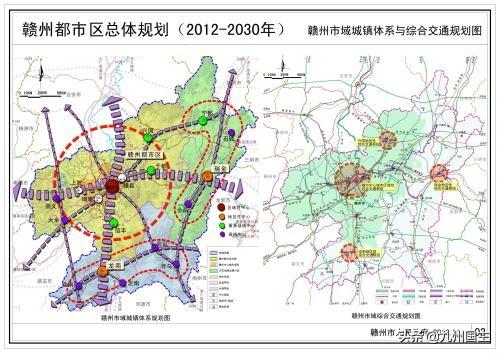 赣州行政区划调整设想:赣州面积太大,可分为三个地级市
