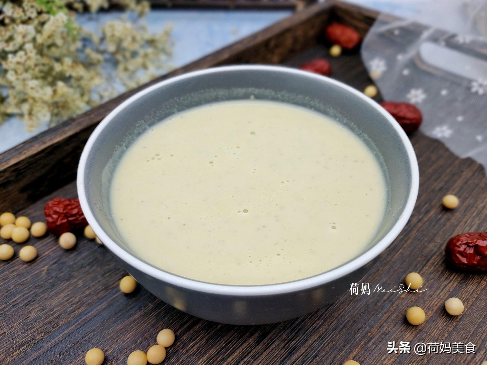 做豆浆别只加黄豆,多加三样食材,香浓细腻营养好,比牛奶还好喝