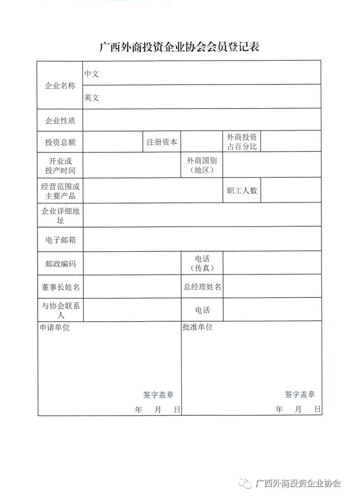 广西外商投资企业协会会员火热招募中