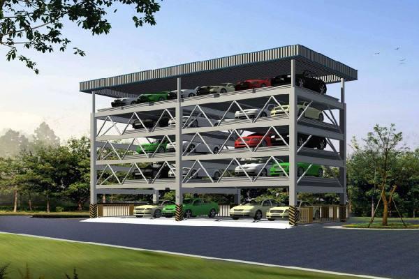 """郑州洛阳都""""哭了"""",平顶山市新建立体停车库,可停车4.7万辆"""