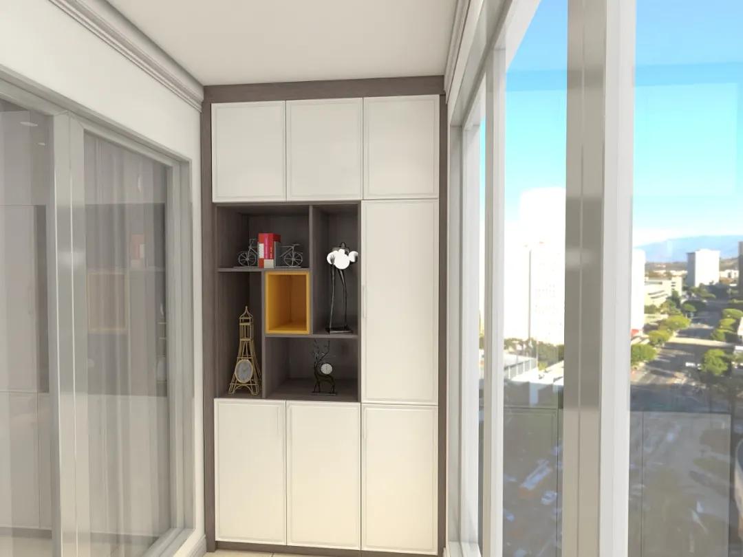 阳台柜专辑丨多种设计方案,给你给带来不一样惊喜