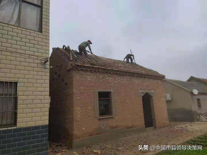 江苏响水县南河镇农房改善造福于民