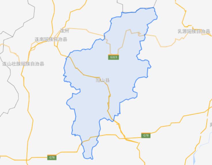 广东省一个县,人口超50万,距离广州160公里!