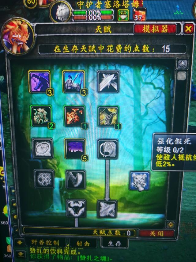 魔兽世界怀旧服:p5阶段射击猎人vs深生存猎人天赋、优劣势?