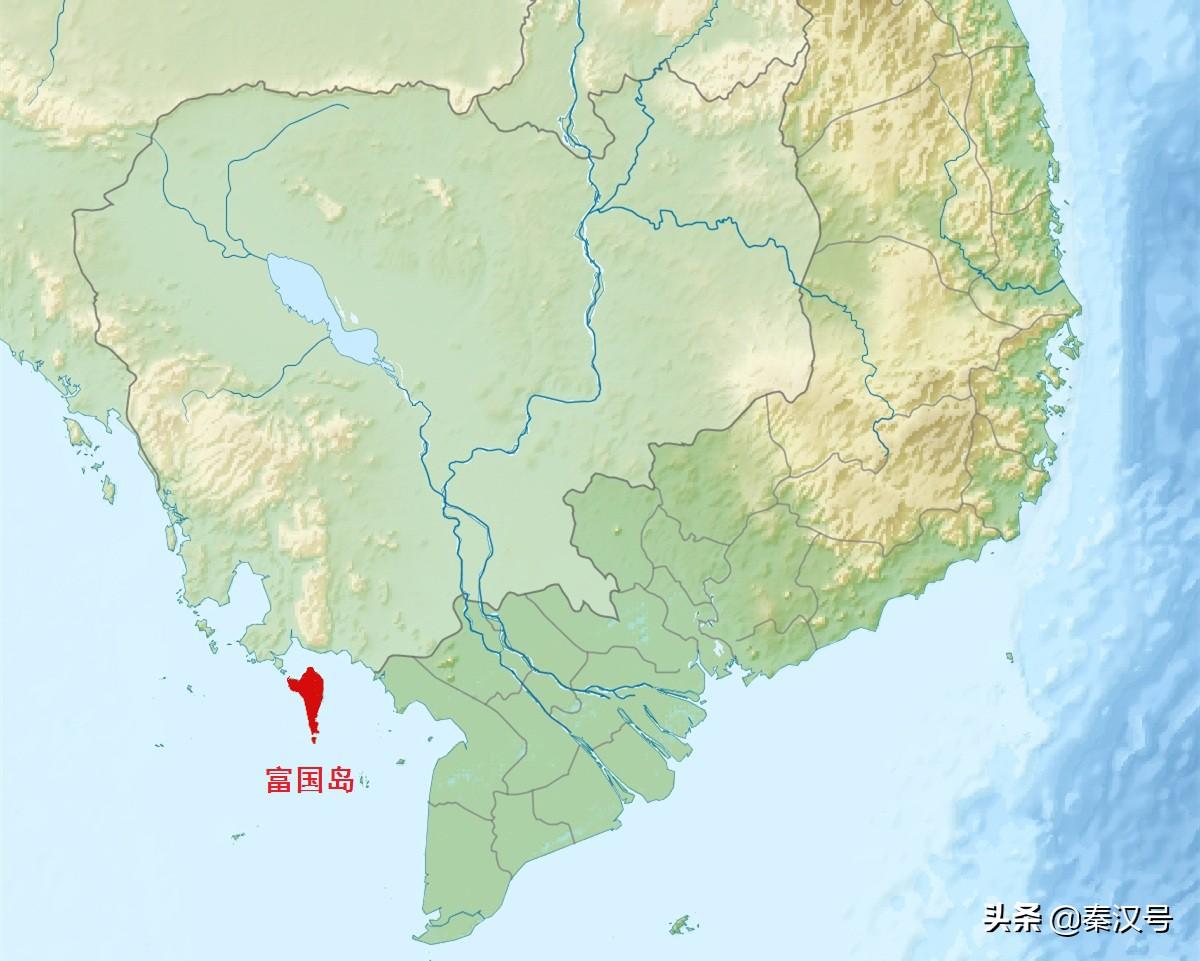 越南最大的岛屿,为何远离本土靠近柬埔寨,竟与中国有渊源