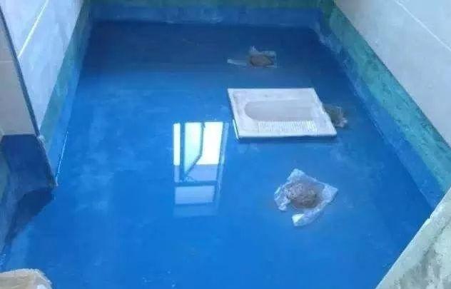 装修注意,常用4种防水材料性能特点介绍