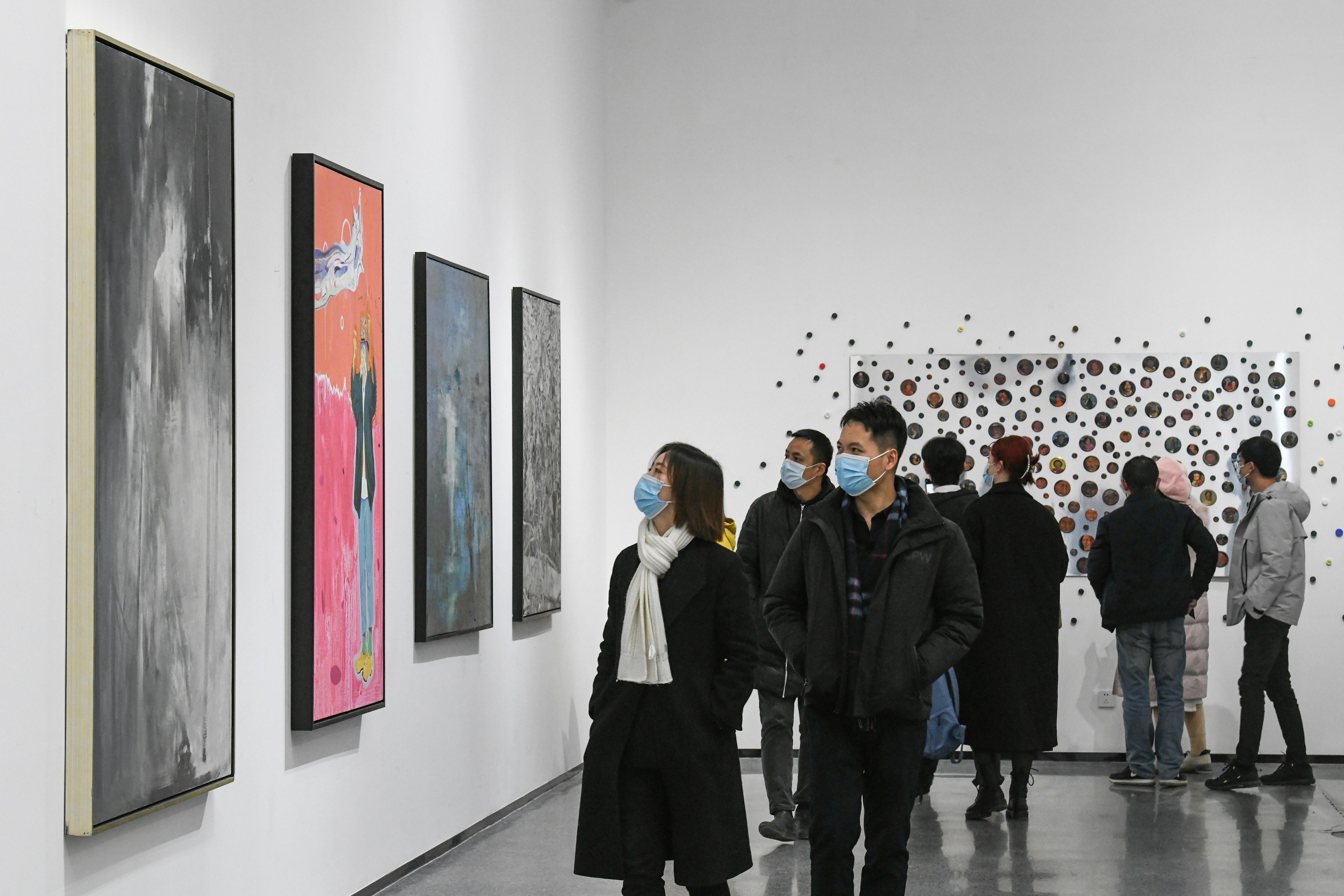首届西安青年绘画双年展:长安之音——西安青年油画展今日开展