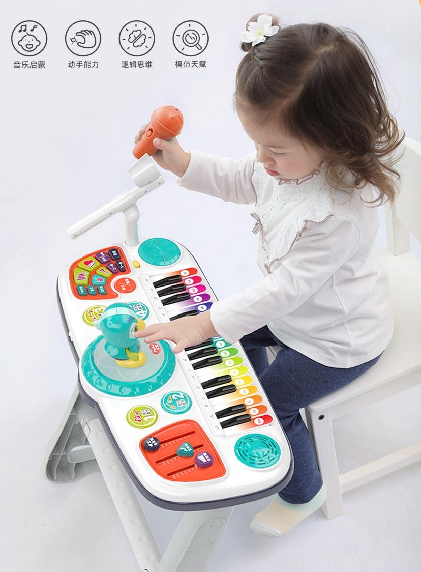 汇乐又出Artistic新品:宝宝专属电子琴