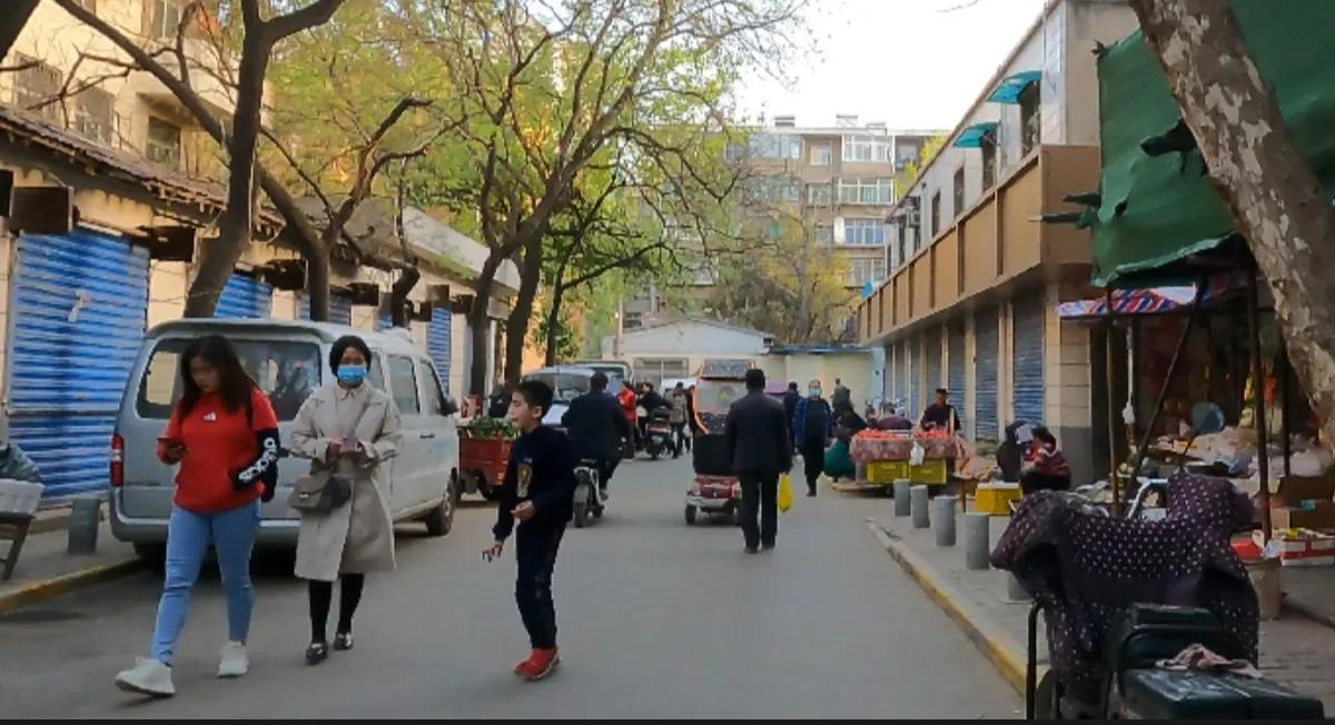 西安城里的街道——劳武巷