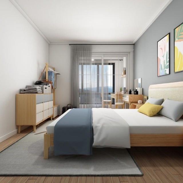她家只有63㎡,装成清新的北欧风格,看似简单,却充满温馨感
