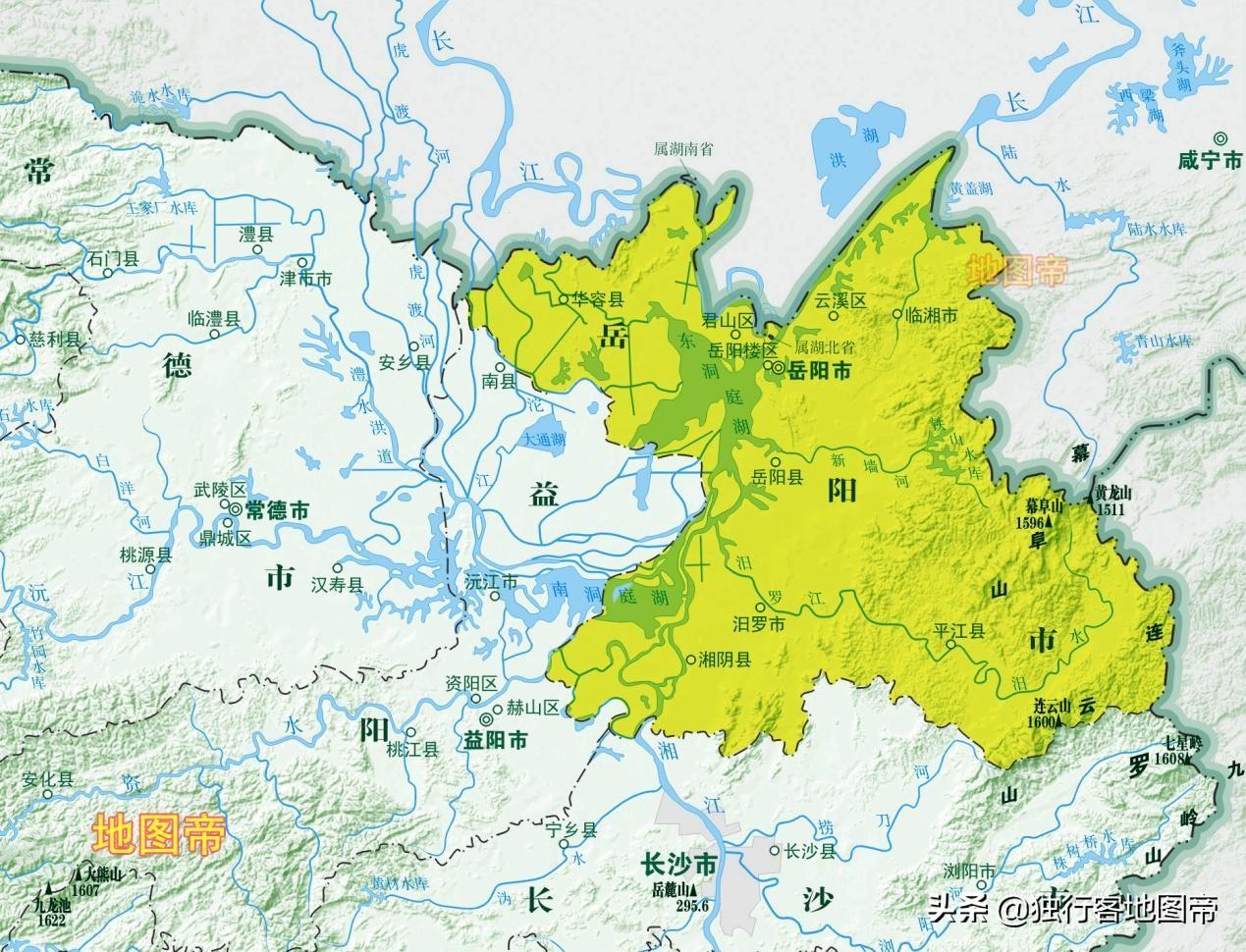 从历史和地理位置上看,岳阳对湖南有多重要?