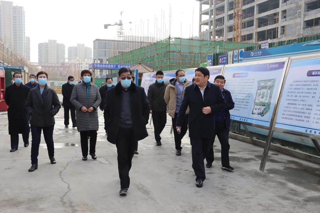 市关工委主任朱绍阳带队调研临沂医养中心项目