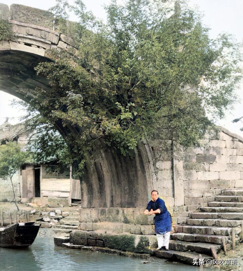 1930年,苏杭运河边上的那些江南女子