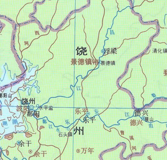 """我国曾一南一北两个地方叫做""""景德镇"""",为何今天却只剩下一个了"""