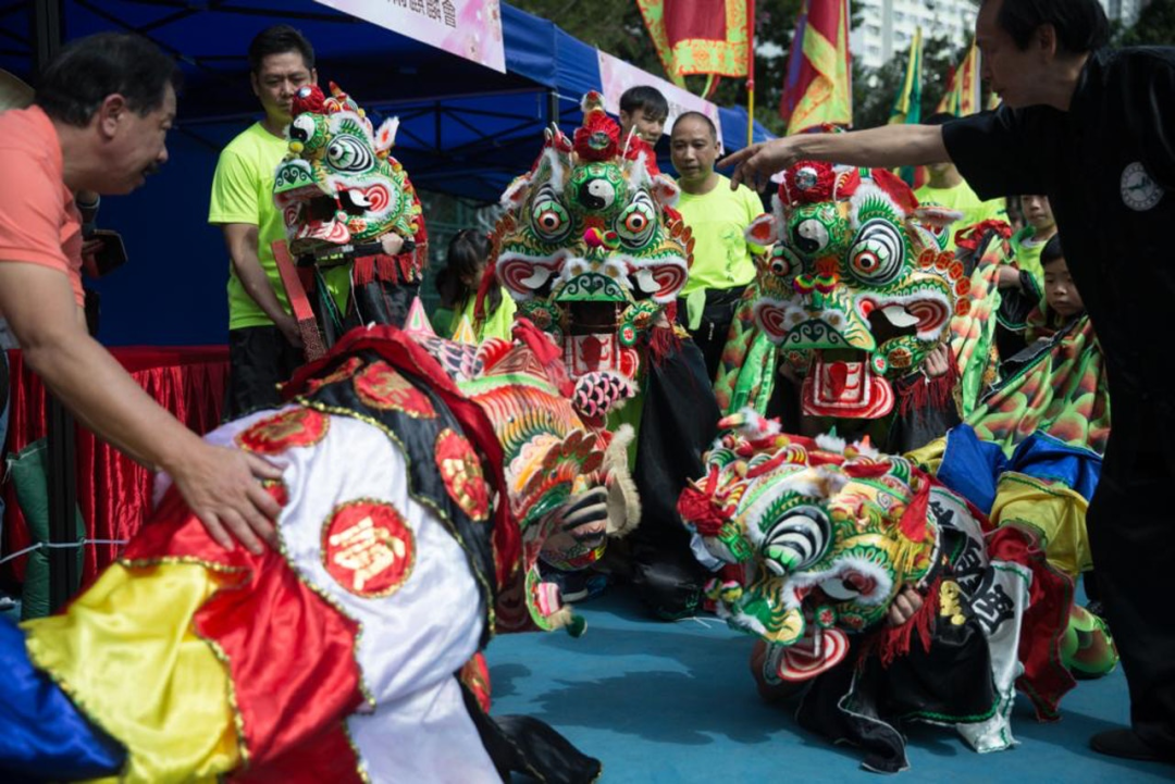 叶德平:香港西贡坑口客家舞麒麟,见证客家人北方南迁历史