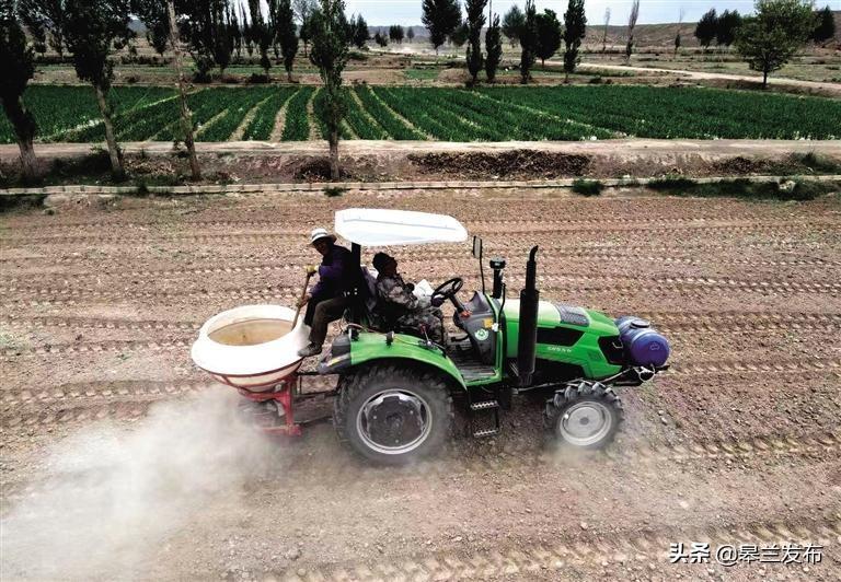 小块并大块赋能农业产业化——皋兰县打破地域界限推进高标准农田建设