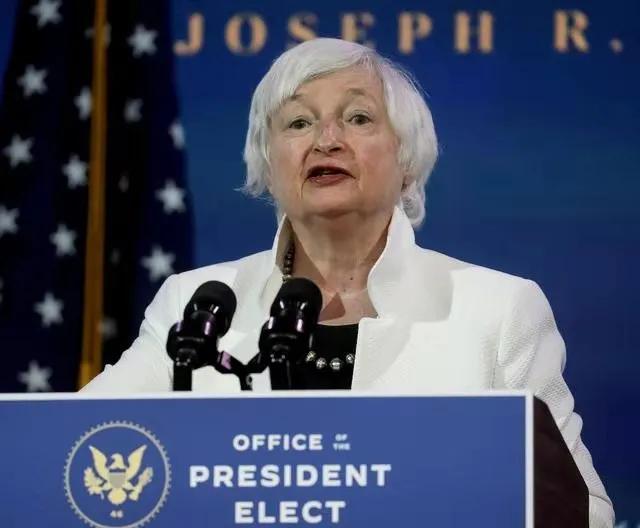 珍妮特·耶伦:美国财政部长说有必要增加税收来支持拜登计划