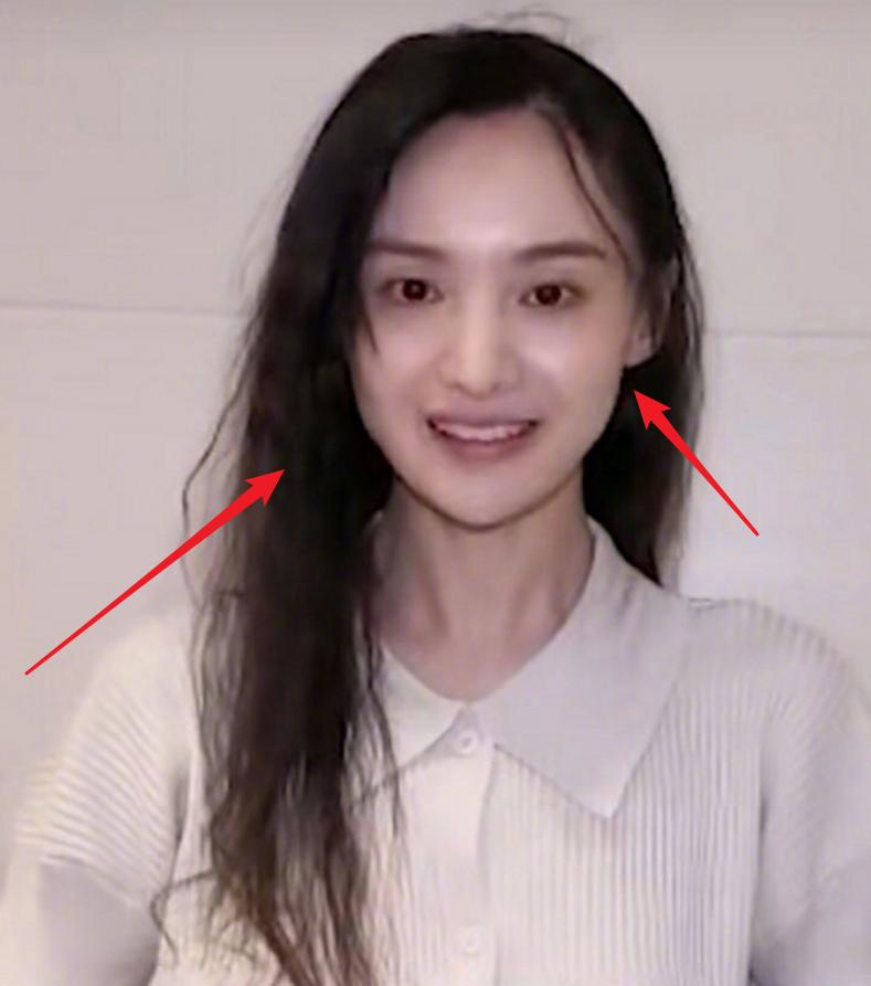 郑爽素颜出镜上热搜,看清这无妆脸蛋后,29岁的状态很真实了