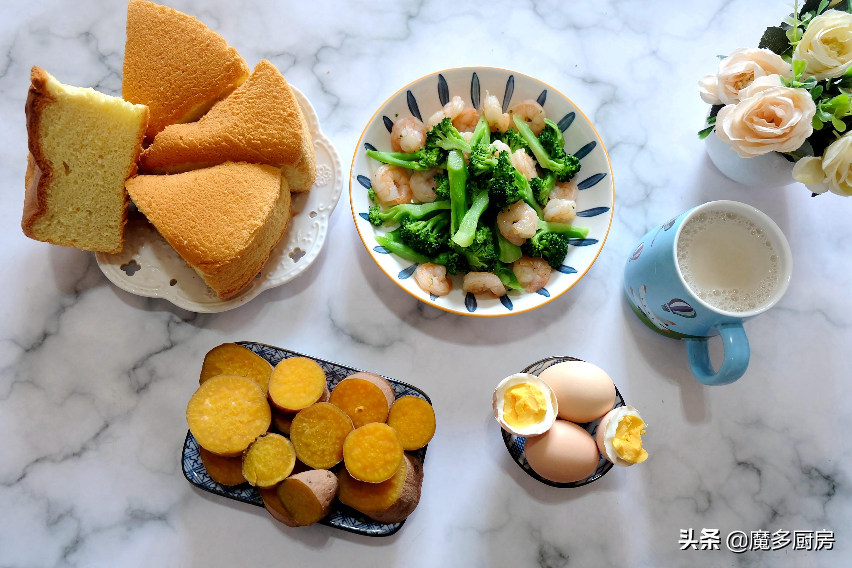 晒晒我家九天不重样的早餐,营养健康做法简单,跟着做就不费心了 美食做法 第2张