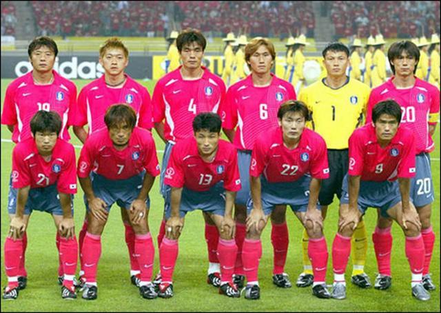 02年世界杯韩国队首发