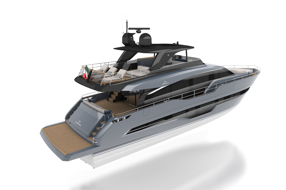 意大利卡兰奇Cranchi发布旗舰Settantotto(78)纪念创立150周年