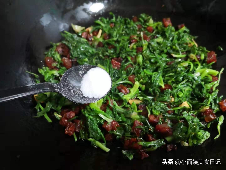 五一前后,野菜不多了,它还有最后一茬,简单一炒贼鲜美,别错过 野菜 第6张