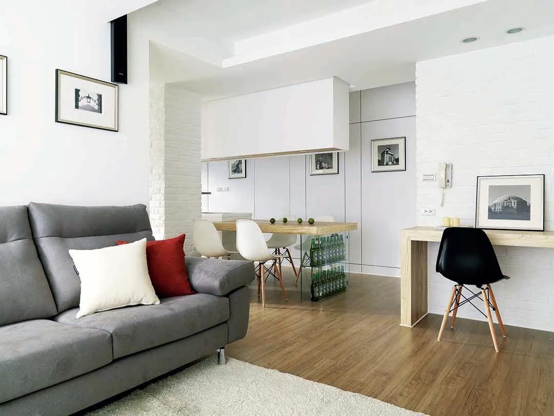 46㎡小户型设计太赞了,挪动墙面瞬间多出2间房!还有两套照抄