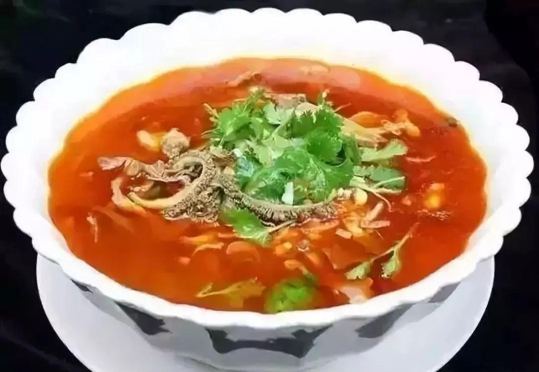 陕北方言,羊杂碎(yáng zá suì)
