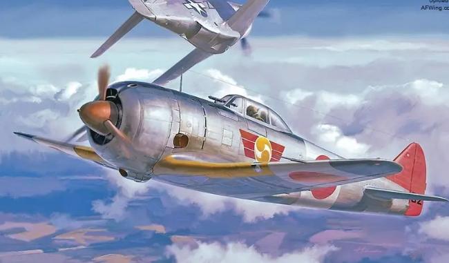 """以中国神仙命名也难以挽救败局,日本二式ki-44""""钟馗""""战斗机"""