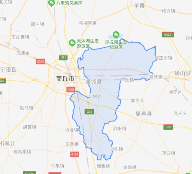 河南省一个县,人口超80万,地处三省交界处