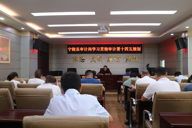 """宁陵县审计局深入学习贯彻""""十四五""""审计工作规划"""