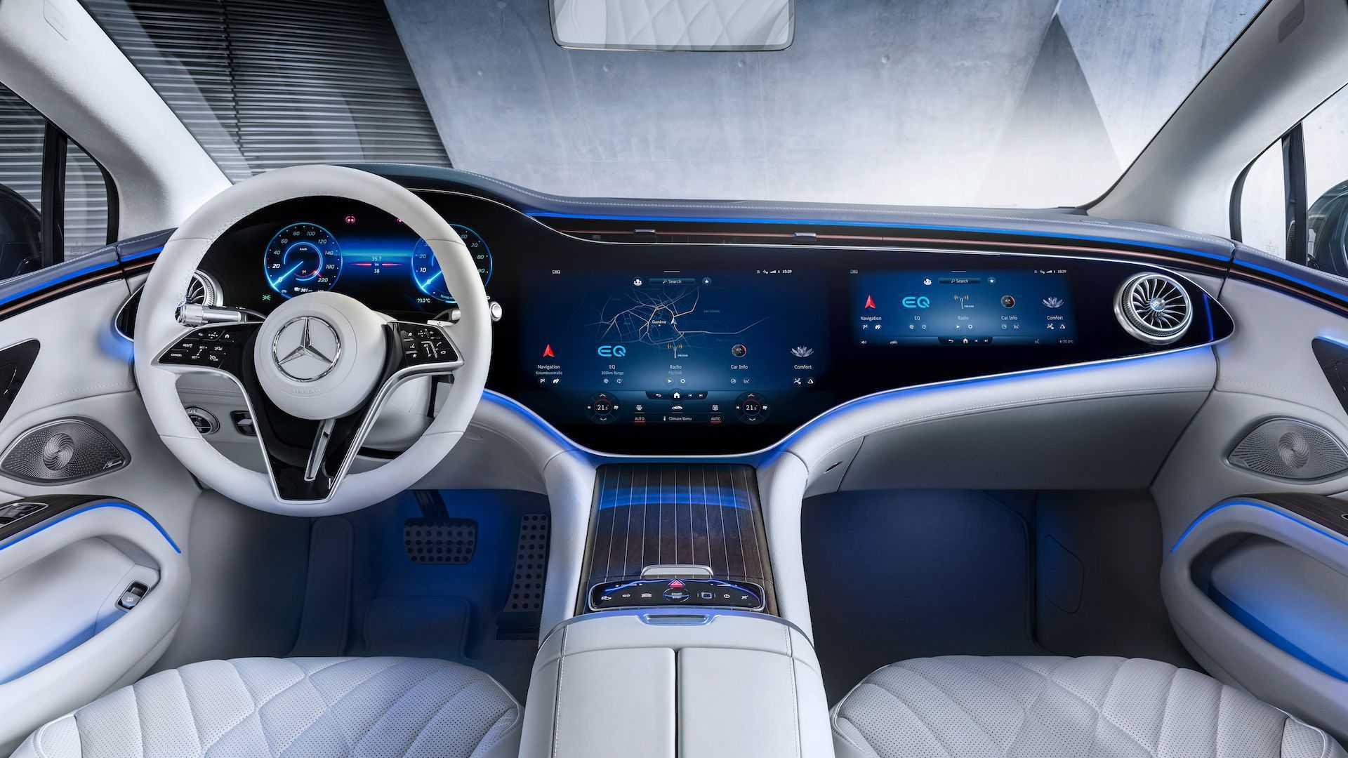 奔驰上海车展阵容曝光!网友:电动化才是未来的大趋势