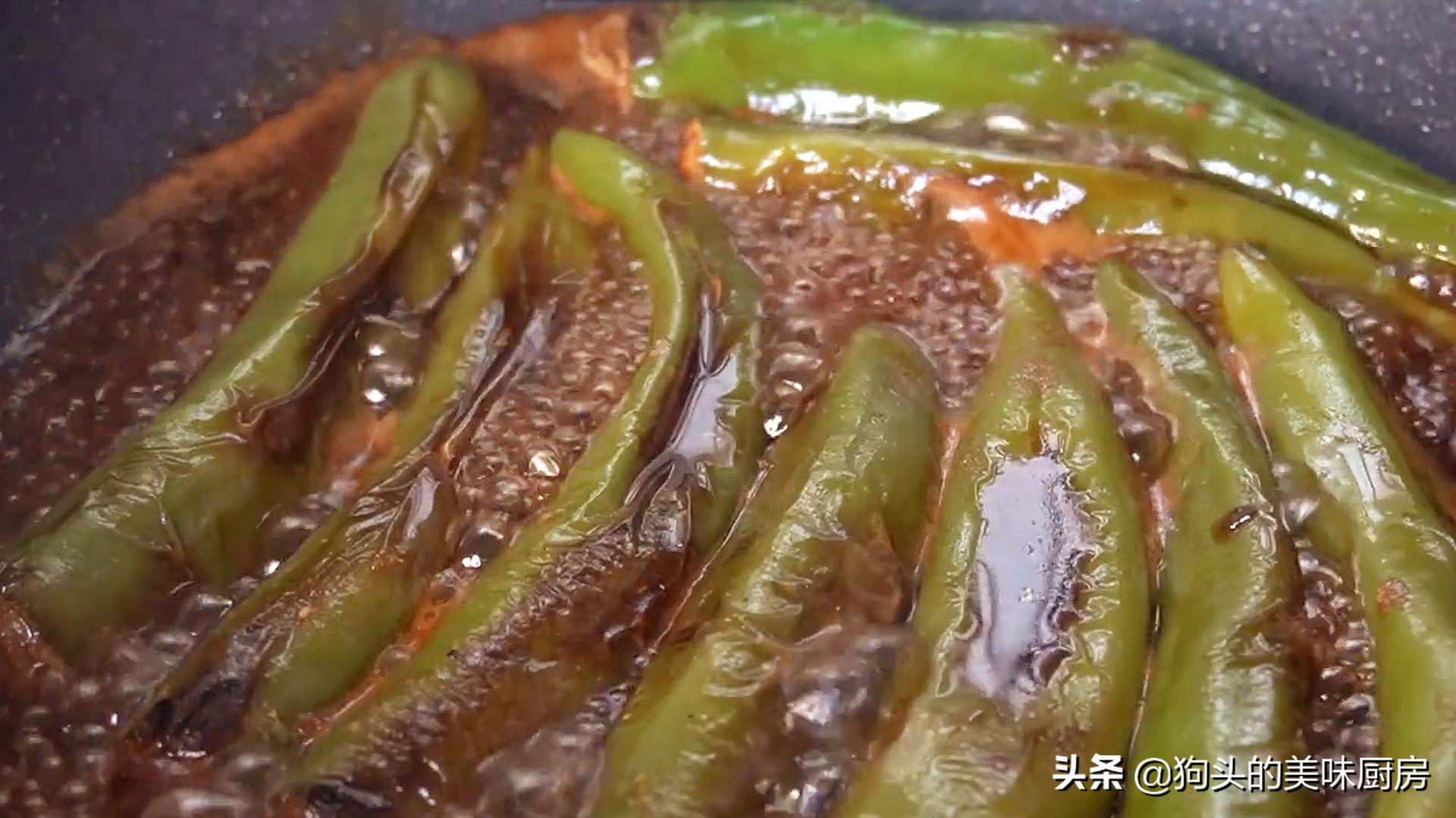 青椒最近火了,试试这样做,饭店卖38,自制成本低一半,真解馋 美食做法 第16张