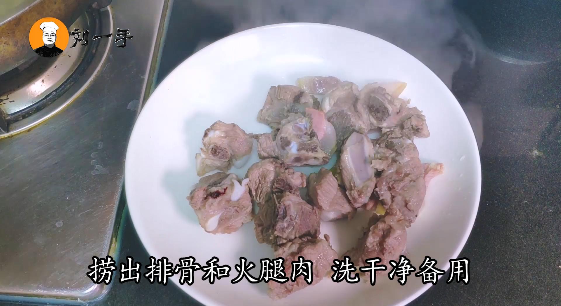 """上海特色菜""""腌笃鲜""""的正确做法,咸香鲜美 苏菜 第5张"""