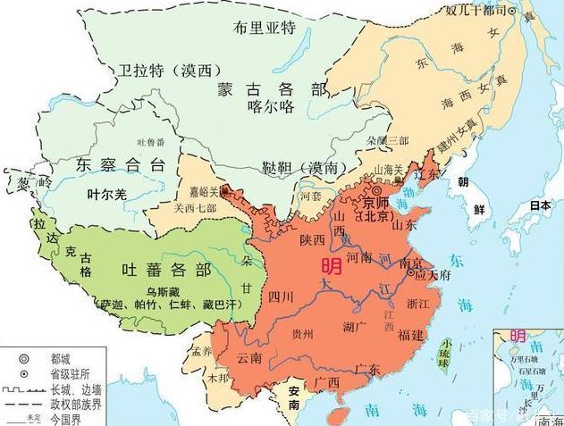 大清时期的省份如何演变的,怎么由13个省,变成23个