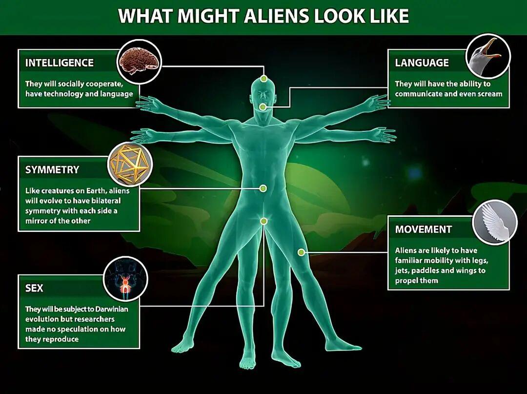 如果真有外星人,他们长什么样?英国科学家称他们或远比人类漂亮