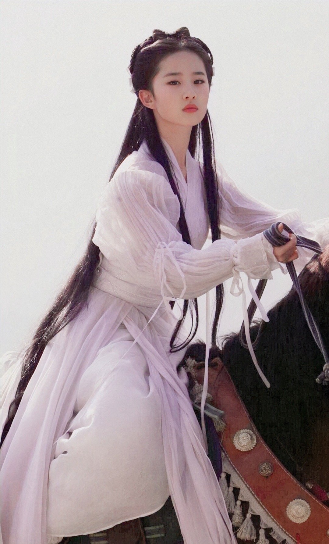 Exposure of part of Liu Yifei newest ancient costume, the road appears modelling celestial being to enrage tenderness, can is compared once Wang Yuyan