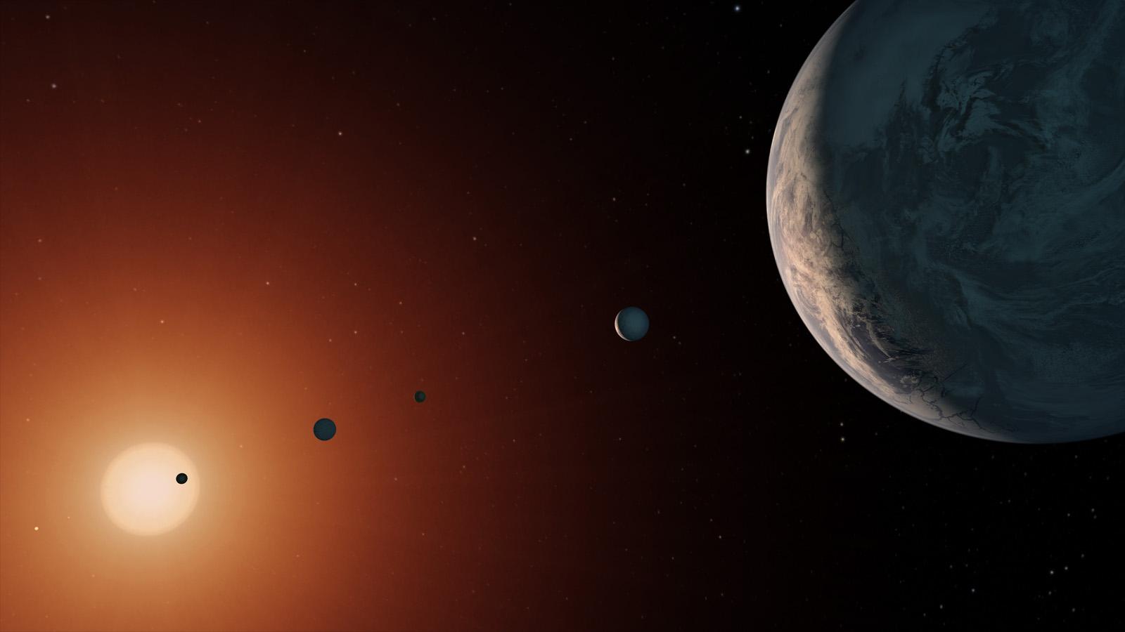 超级太阳系或拥有7颗宜居带行星,地外生命概率大大增加-第1张图片-IT新视野
