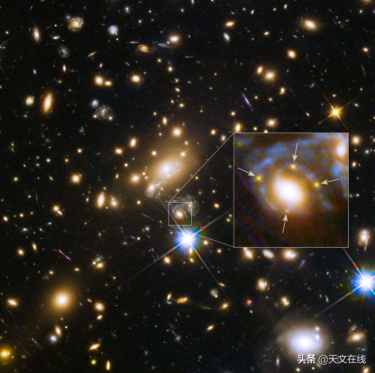 这颗巨大的超新星不同于以往所见的任何天文现象