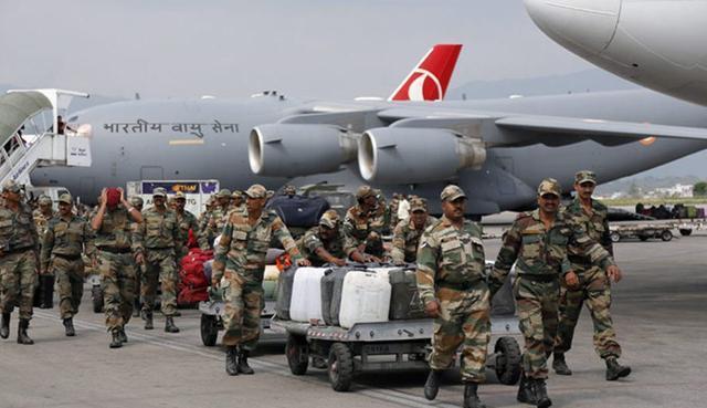 再搞大动作!印度特种部队集结班公湖!莫迪铁心要打仗?