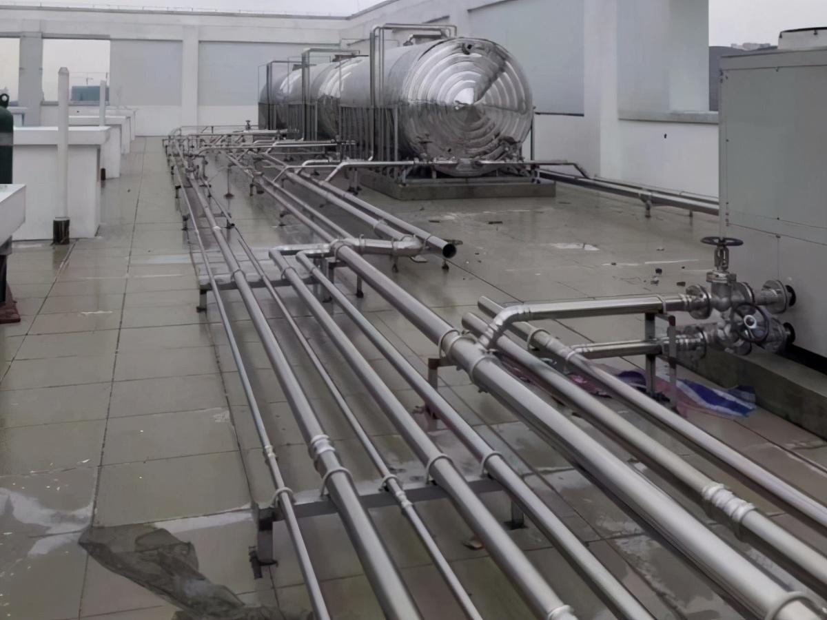 永穗品牌不銹鋼給水管道施工