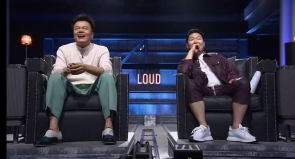 JYP朴振英和PSY鸟叔面临尴尬!《LOUD》收视率再创新低