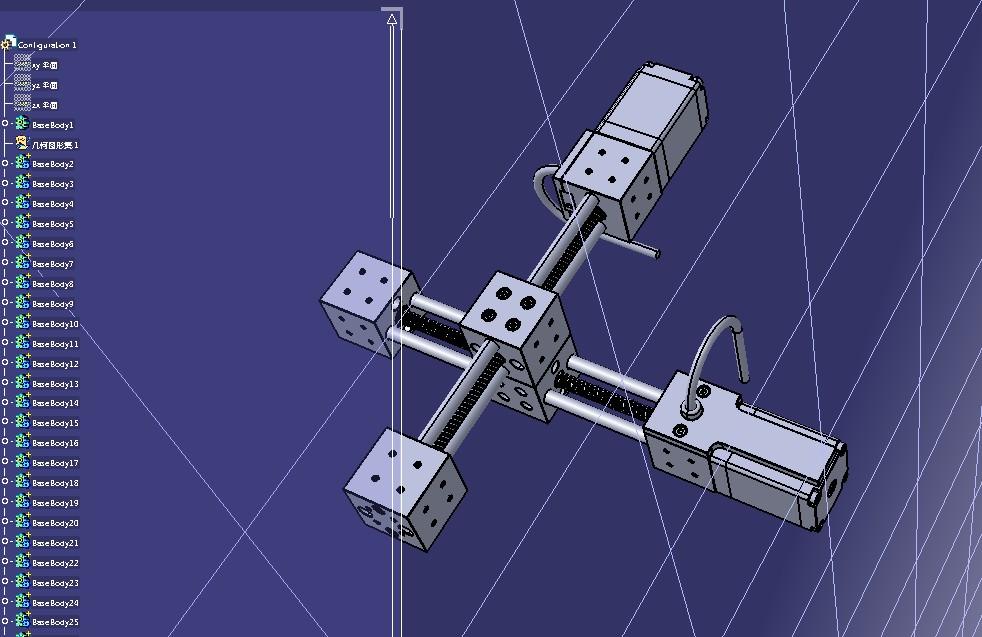 KINEMATICS linear actuator直线驱动器3D数模图纸 STEP格式