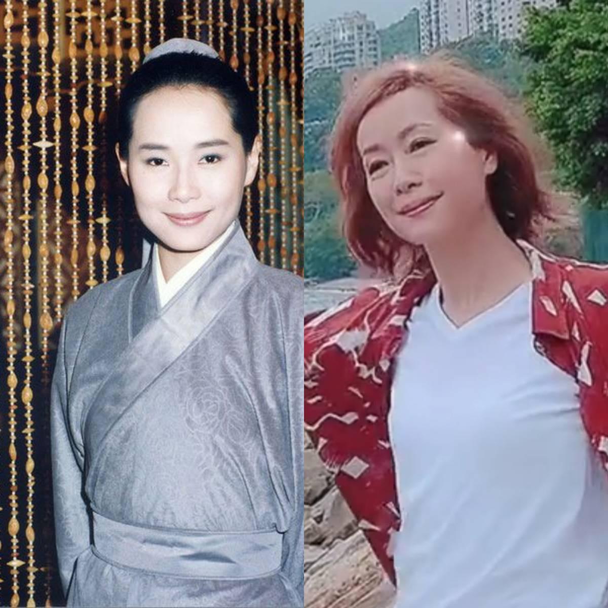 66岁赵雅芝再扮白娘子,风韵依存不减当年,近看比小38岁杨紫还嫩